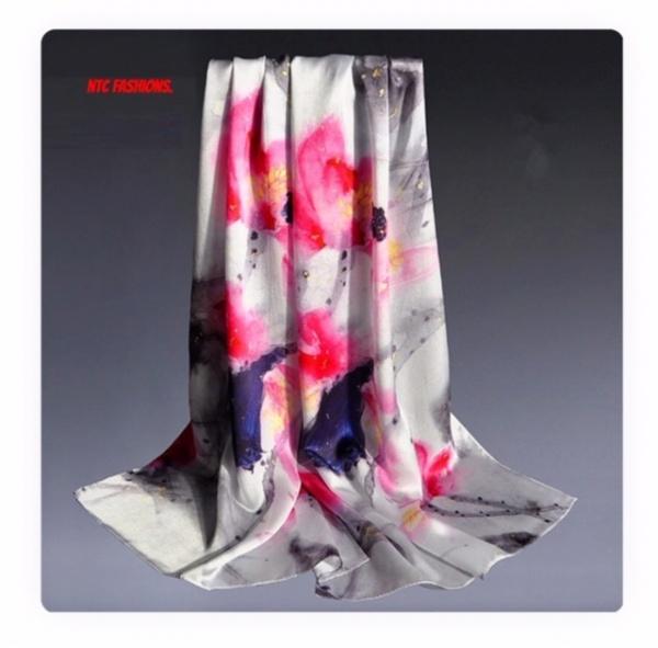 Digital Printing French Silk Scarves